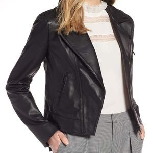 Genuine leather jacket new with tags